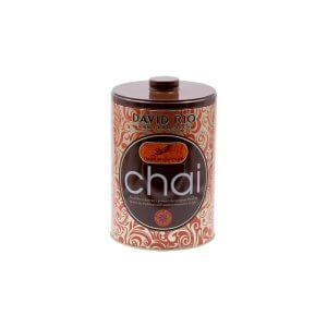 Lata de Chai Latte David Rio