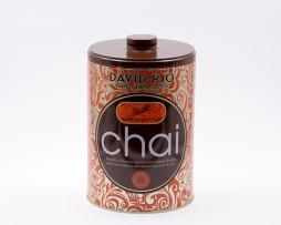 Lata para Té Chai Latte de David Rio